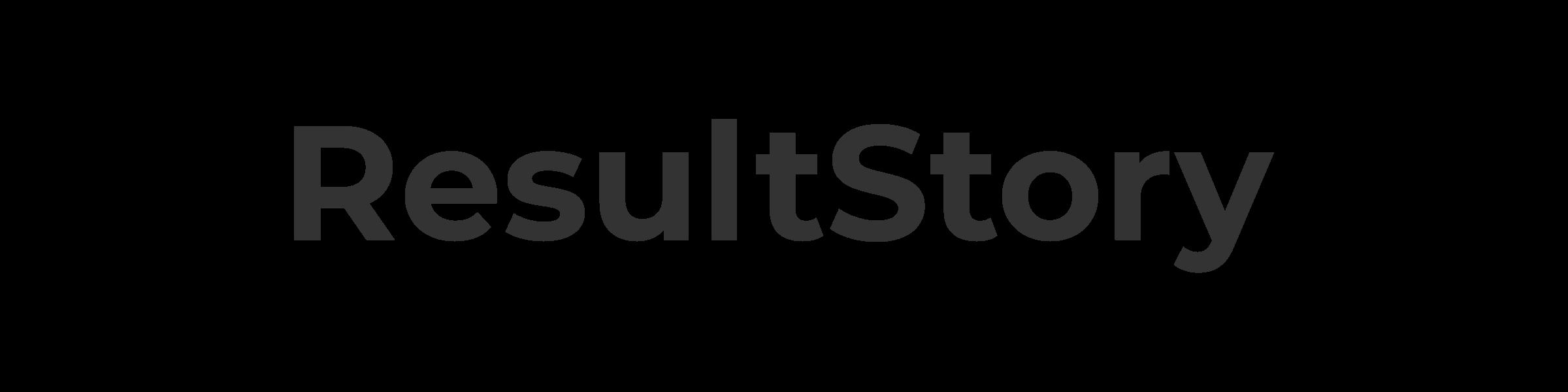 ResultStory logo